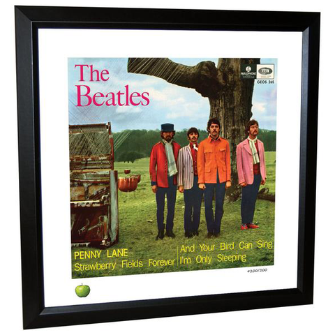 Penny Lane Limited Edition Framed Lithograph