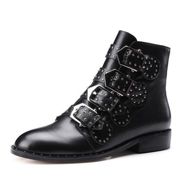 Hot Women's Kickass Real Leather Shoes