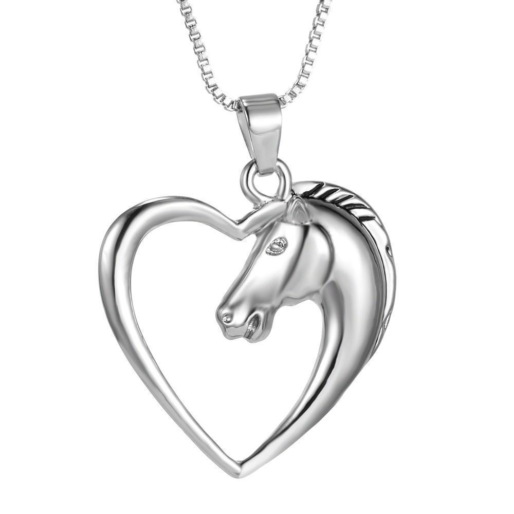Women's Adorable Love-Heart Pendants-