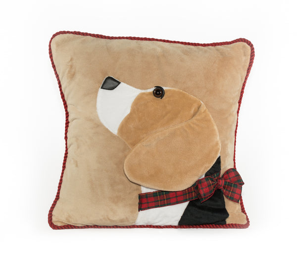 Beagle Decorative Pillow