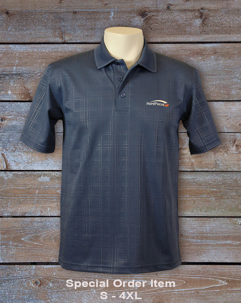Special Order - Men's Embossed Graph Check Polo