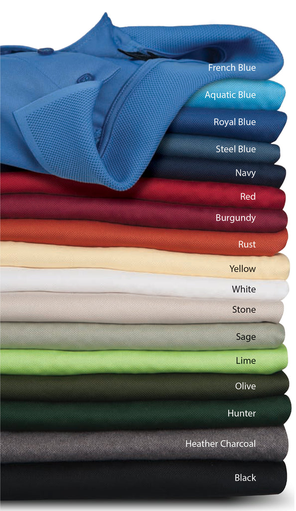 Special Order  PK Polo - 18 colors