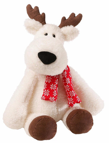 "Aspen the White Reindeer Winter Holiday Stuffed Animal - 20"" - Gund"