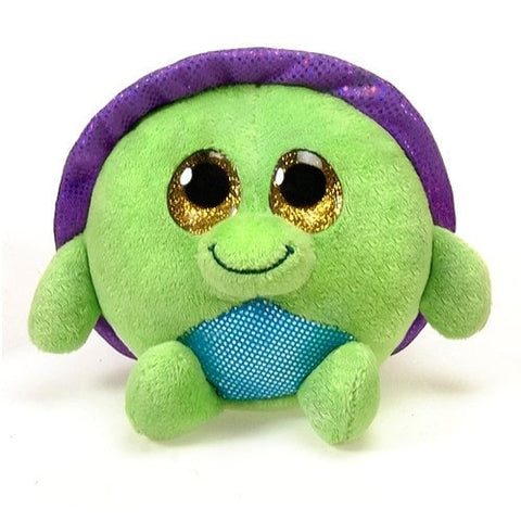 "Lubby Cubbies Kiwi the Turtle - 3.5"" - Fiesta"