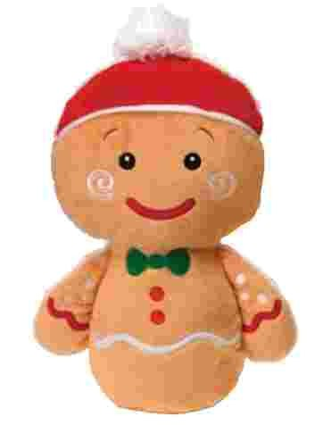 "Plush Gingerbread Man - 15.5"" - Fiesta"