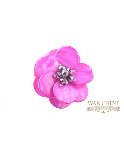 Pink Two Step Brooch