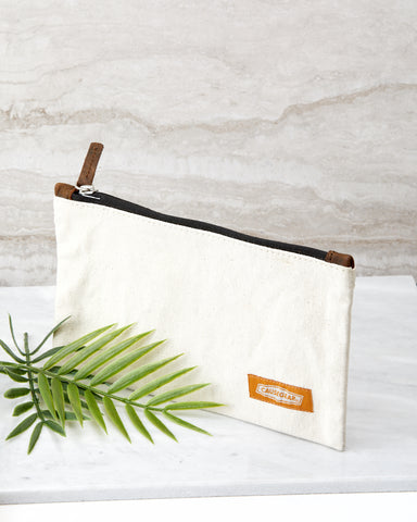 Natural Canvas Utility Case