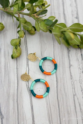 Vibrant Thread Earrings for Women - Jewelry - WAR Chest Boutique