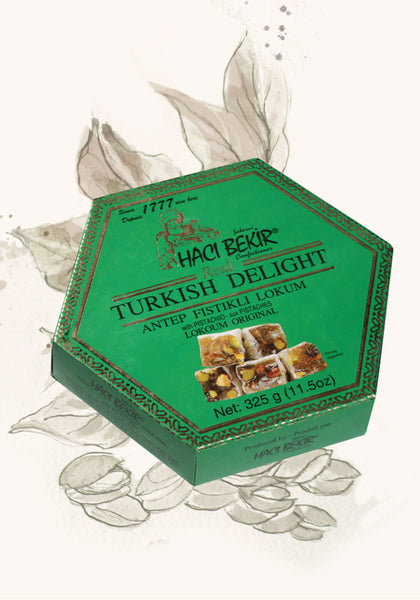 325g Turkish Delight with Pistachio