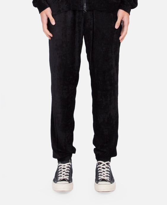 Stripe Velour Pants