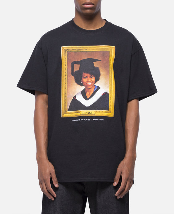 Michelle Obama T-Shirt (Black)