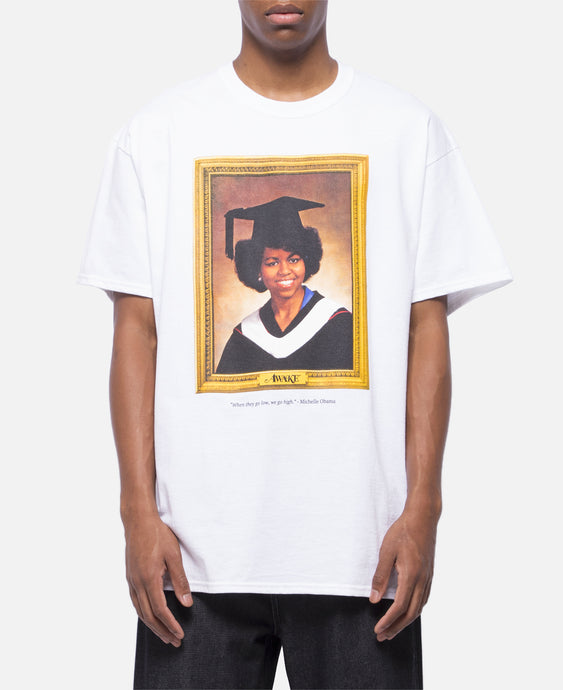 Michelle Obama T-Shirt (White)