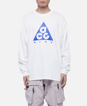 AS M NRG ACG L/S Logo T-Shirt (White)