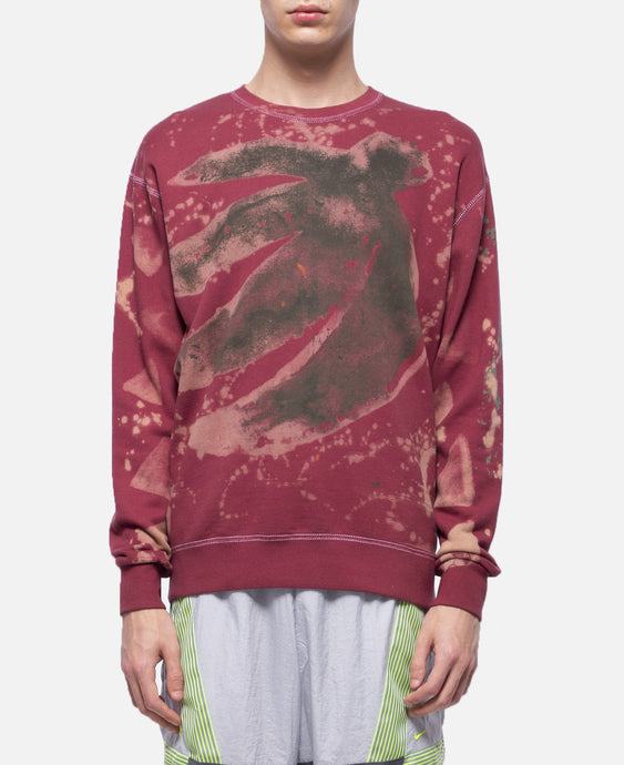 KZK Crewneck Sweater (Burgundy)