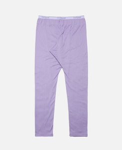 C Through Pants W/Clot Elastic Tape (Purple)