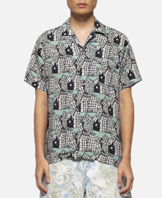Hawaiian Shirt (Green)