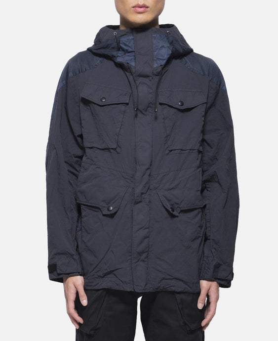 Contrasted Mountain Parka