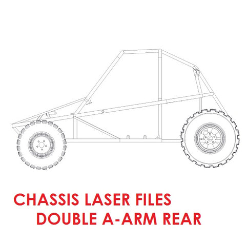 Piranha II Chassis Laser Files (Double A-Arm Rear)