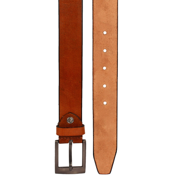 SeeandWear Genuine Leather Tan Colour Formal Casual Belt For Men (36MM) - SeeandWear