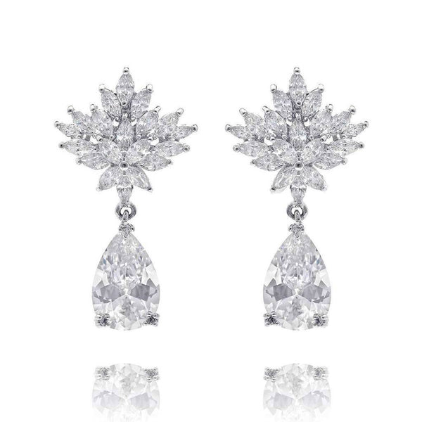 Tamara Cubic Zirconia Earrings-Starlet Jewellery