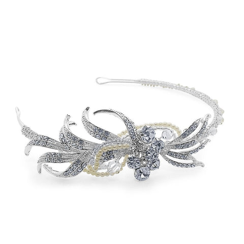 Claudia Side Tiara-Starlet Jewellery
