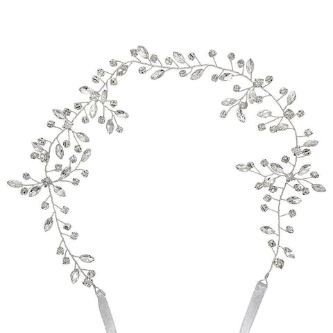 Imperial Diamante Hair Vine-Hair vines-Starlet Jewellery