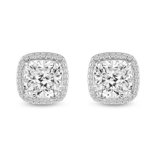 Natalia Simulated Diamond Stud Earrings-Earrings-Starlet Jewellery