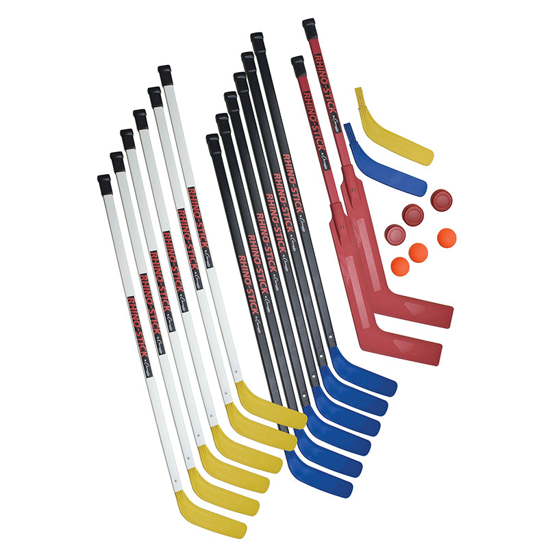 "47"" Deluxe Rhino Stick Senior Hockey Set"