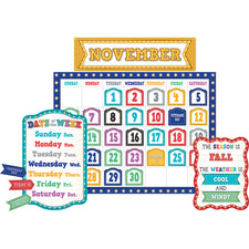 Marquee Calendar Bulletin Board Set
