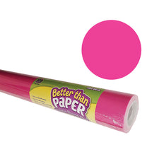 Hot Pink Better than Paper Bulletin Board Fabric, Four 4' x 12' Rolls