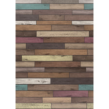 Reclaimed Wood Better than Paper Bulletin Board Fabric, Four 4' x 12' Rolls