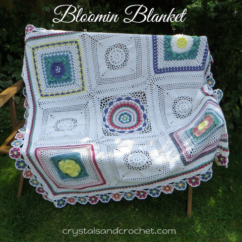 Bloomin' Blanket Pattern by Helen Shrimpton - Digital Version