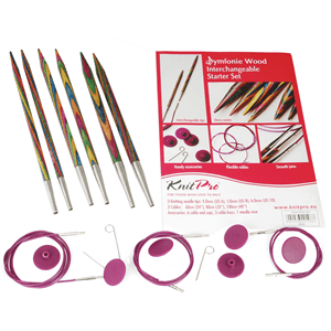 Knit Pro Symfonie Wood Interchangeable Starter Set