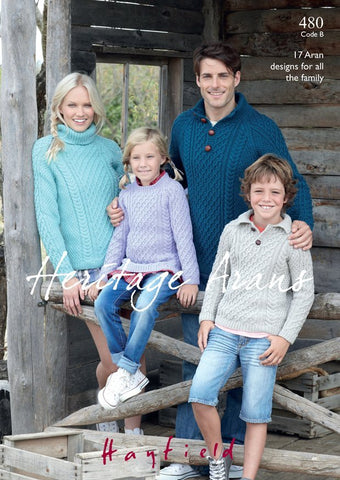 Incredible Family Aran Knits (480B)