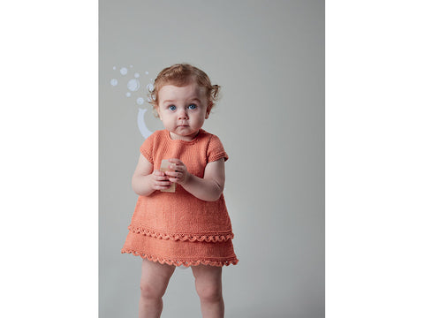 Dress and Pinafore in Sublime Baby Cashmere Merino Silk DK (6141)