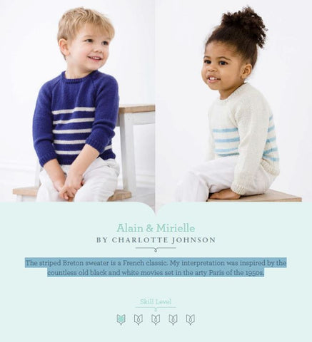 Alain & Mirielle by Charlotte Johnson