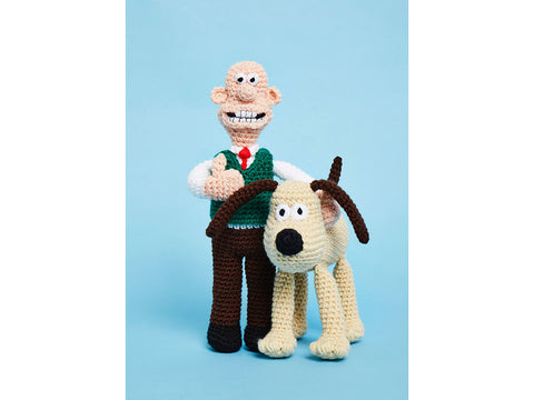 Crochet Now Wallace & Gromit Colour Pack in Patons Fab DK