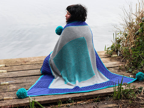 Batchworth Blanket by Anna Nikipirowicz in West Yorkshire Spinners ColourLab DK