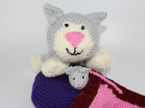 Kitten Pal by Cilla Webb in Deramores Studio DK