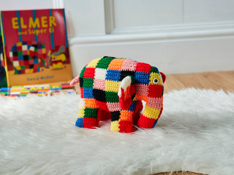 Crochet Now Official Elmer Toy Colour Pack in Stylecraft Special DK