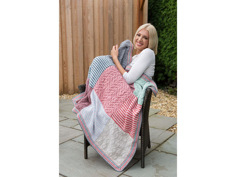 Blanket in Rico Design Creative Soft Wool Aran