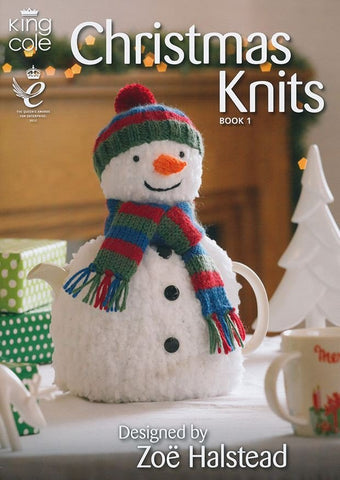 Christmas Knits Book 1 By King Cole