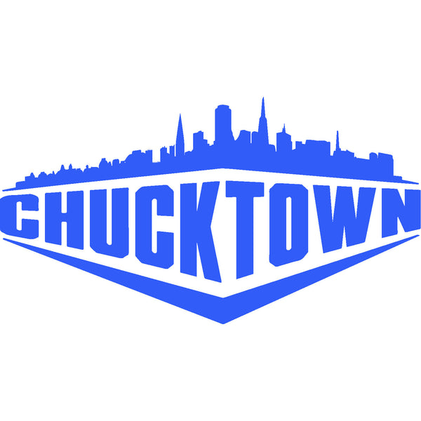 Chucktown ® Skyline Sticker 6 x 3.5