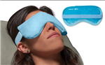 Dual Zone Dry Eye Compress - Relieve Dry Eyes in minutes!  Pulls moisture from the air when heated, no water needed!