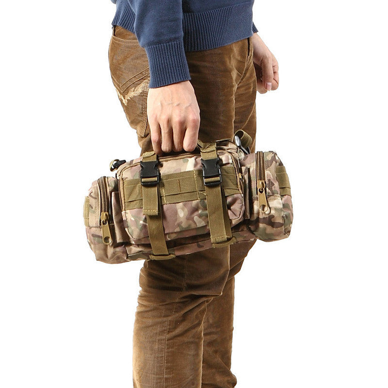 Tactical Camping Waist Pack Deployment Military Bag