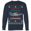 """Merry Swim-Mas"" Christmas Sweater"
