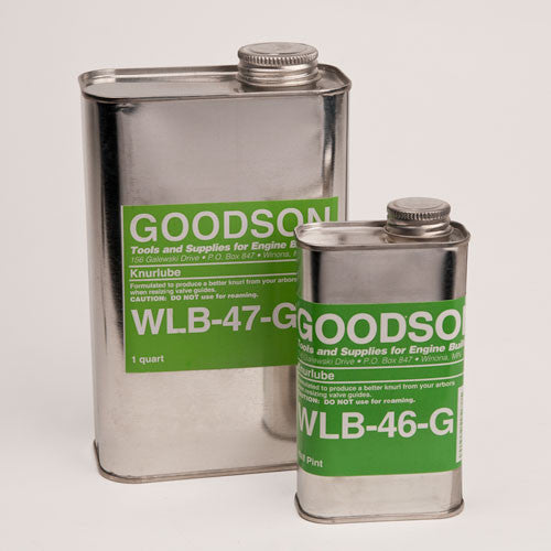 Goodson Knurlube is available in 2 sizes.