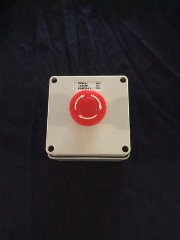 Emergency Stop - Stop button
