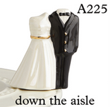 NORA FLEMING DOWN THE AISLE BRIDE & GROOM MINI A225, Nora Fleming - A. Dodson's