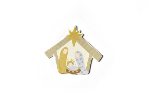 HAPPY EVERYTHING NEUTRAL NATIVITY MINI ATTACHMENT, Happy Everything - A. Dodson's